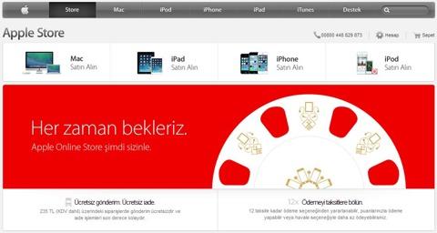 Apple Store en Turquía