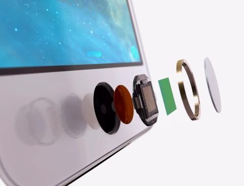 Botón Home de zafiro del iPhone 5S