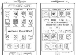 Usuario invitado en el iPad