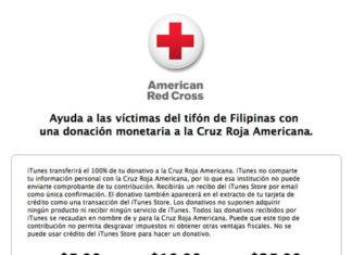 Donaciones a Cruz Roja