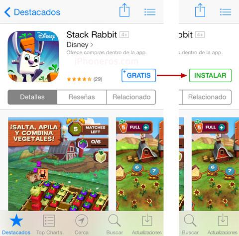 Instalando una App gratuita