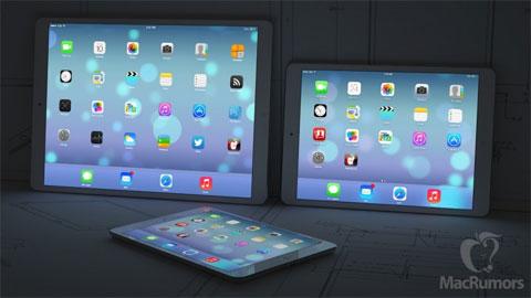 Concepto de imagen de iPad enorme