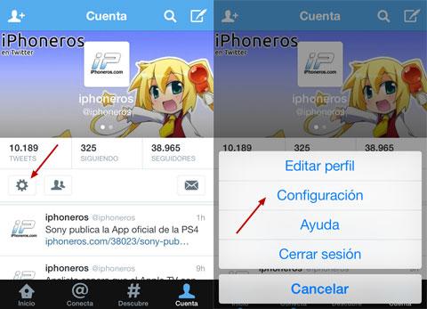Twitter de iPhoneros