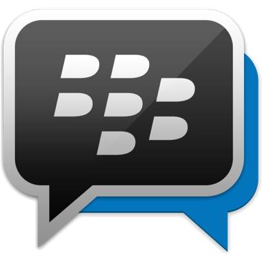Logo de BlackBerry Messenger