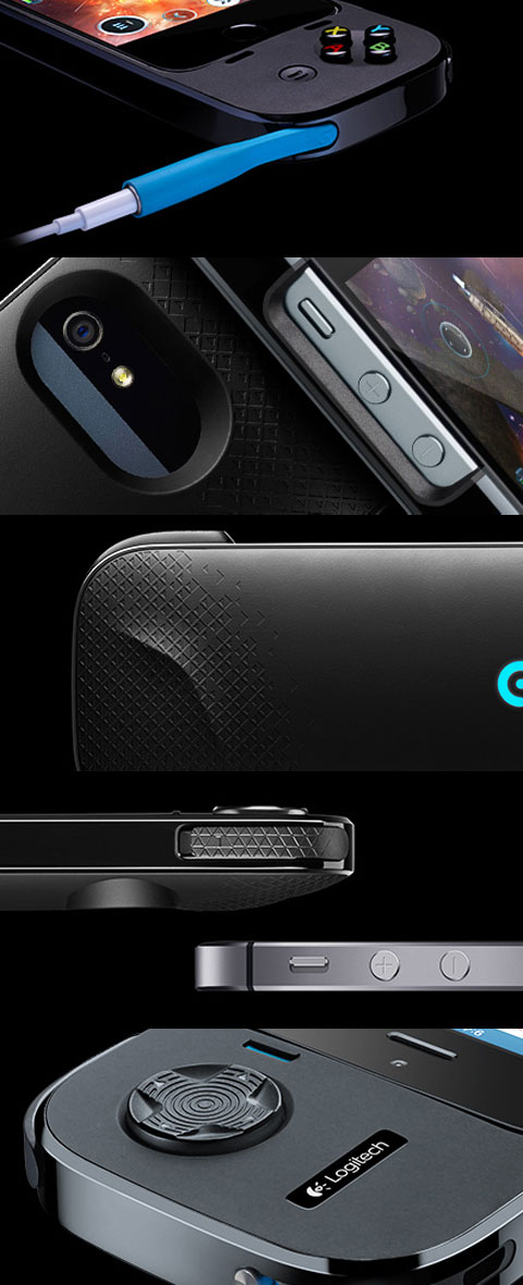 Mando de juegos para iPhone de Logitech