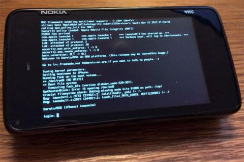 Un N900 con Darwin