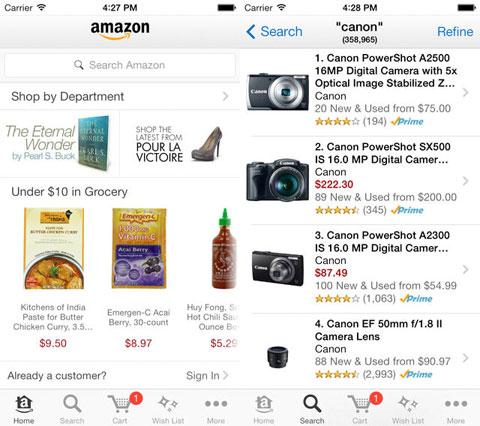 Nueva App de Amazon