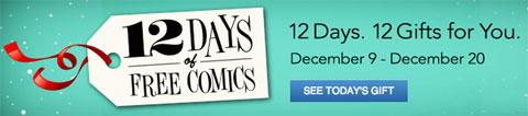 12 días de comics