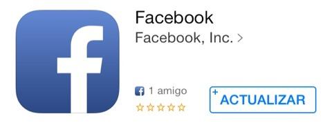 Facebook se actualiza