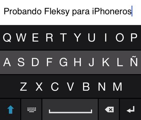 Probando Fleksy
