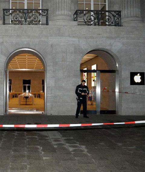 Apple Store robada en Berlín