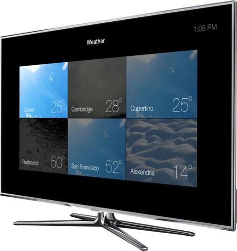Concepto de diseño de Apple TV con iOS 7
