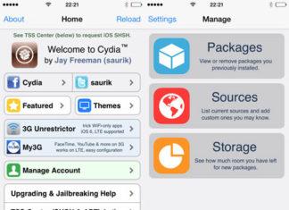 Cydia 1.1.9 para iOS 7