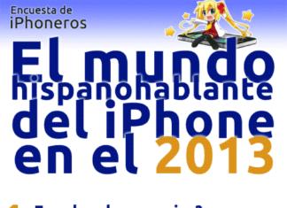 Infografía del mundo hispanohablante del iPhone 2013