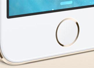 iPhone 5S en blanco