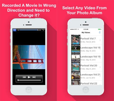 Rotate Video & Flip