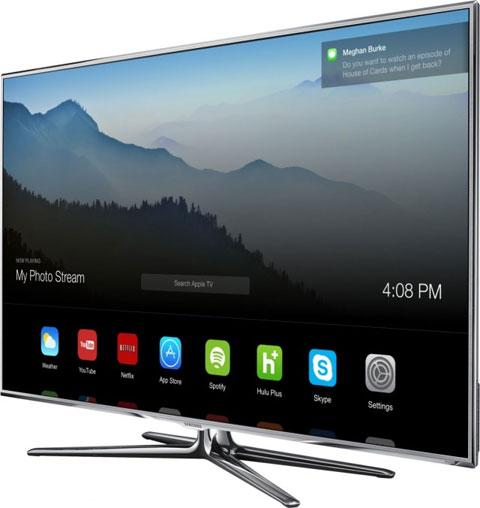 TV con iOS 7 (concepto de diseño)