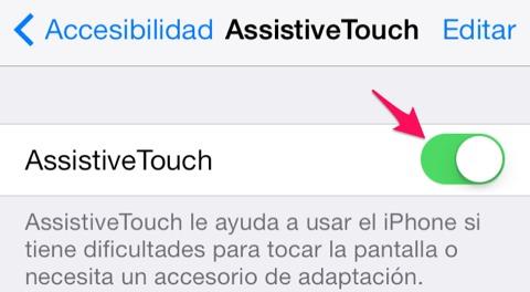 Cómo utilizar un iPhone con un botón Home que no funciona