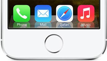 Dock de iOS 6