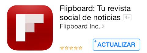 Actualización de Flipboard