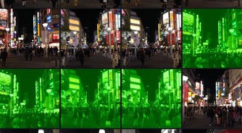 Fotos en verde con la App de Cámara de iOS 7
