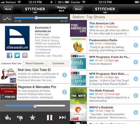 Stitcher Radio