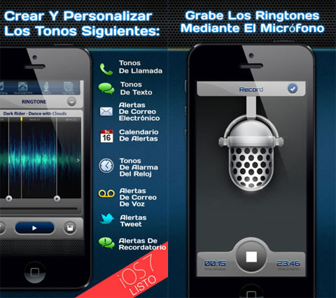 Tonos para iOS 7