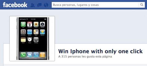 iPhone por un click