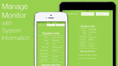 Manage Monitor