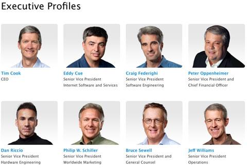 Directivos de Apple