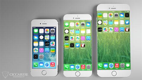 Concepto de diseño de iPhone 6 de Federico Cicaresse