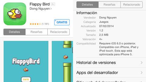 FlappyBird en el App Store