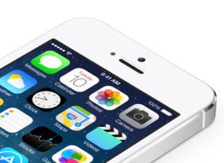iOS 7 en el iPhone 5S