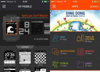 App Store de Pebble