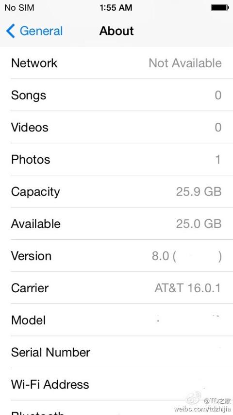 Supuesto iOS 8