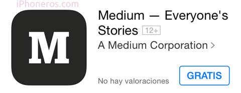 Medium gratis