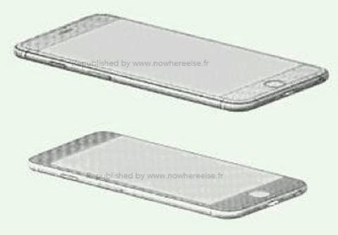Supuestos esquemas del iPhone 6
