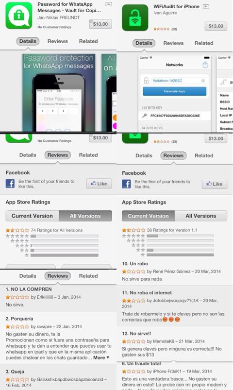 Timos en la App Store