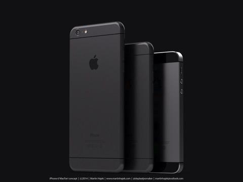 Concepto de diseño de iPhone 6 de Martin Hajek
