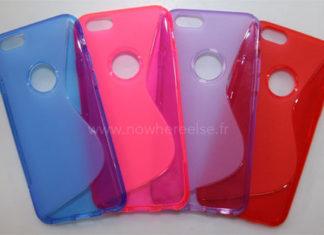 Fundas de silicona para un iPhone 6 que no se ha anunciado todavía