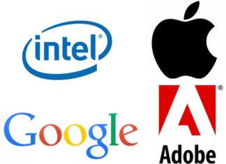 Intel, Google, Adobe y Apple