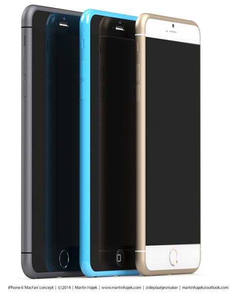Concepto de diseño de iPhone 6S y 6C