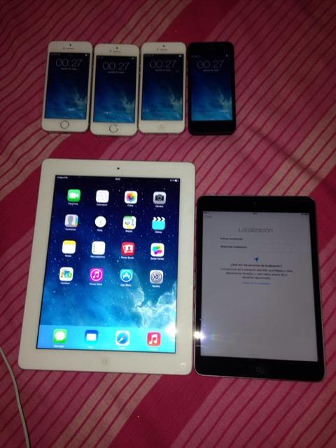 Dispositivos iOS liberados