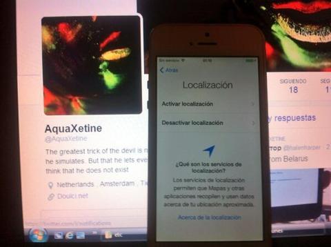 iPhone liberado de iCloud