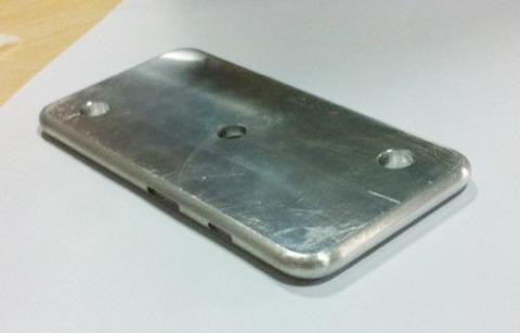 Molde de aluminio del iPhone 6