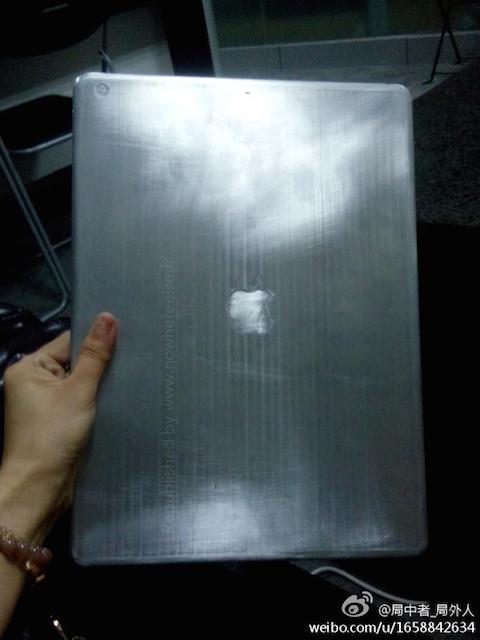 Foto filtrada de un supuesto iPad Pro