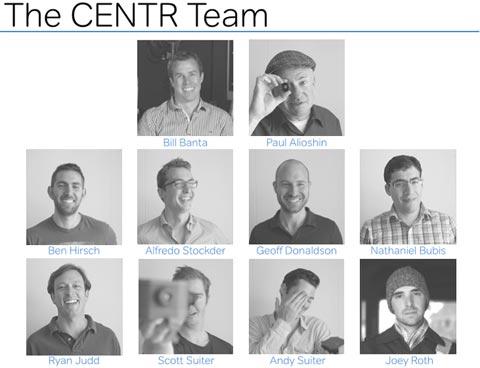 Ingenieros de la cámara del iPhone y de la CENTRCamera