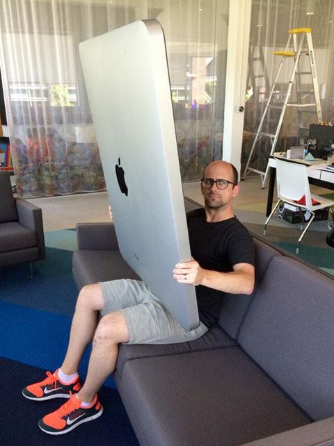iPad enorme