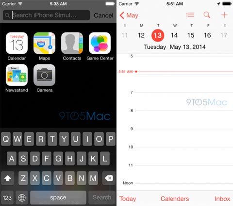iOS 7 utilizando las nuevas resoluciones