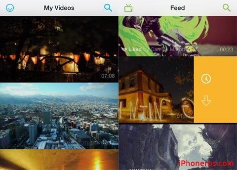 Nueva App de Vimeo